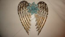 Angel Wings, Christian Symbol, Shabby Chic, Flower, Gift Ideas, Rustic decor