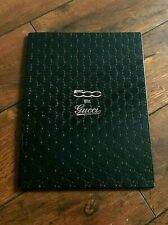 Vintage Very Rare Fiat 500 GUCCI Promotional Hardback Brochure Booklet Book