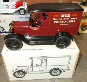 UTZ Potato Chips Hanover, PA 1923 Chevrolet 1/2 Ton Ertl Truck Bank