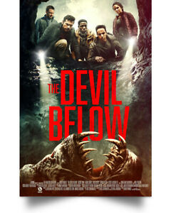 Poster Wall Art The Devil Below Movie Poster Full Size