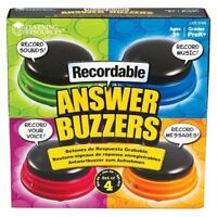 Learning Resources Recordable Answer Buzzers, Set of... TRG
