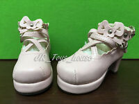 1/3 BJD Light Pink Lolita shoes A fits SD AI Dz BB Super Dollfie DD SALE