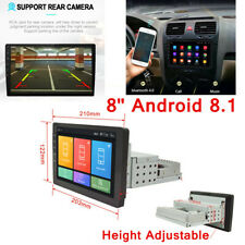Android 8.1 Bluetooth Car Stereo Navigation GPS Radio Head Unit Mirror Link 1Din