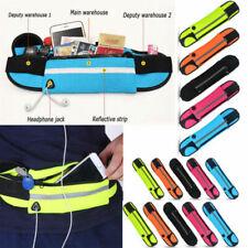 Chic Unisex Running Belt Bum Waist Bag Pouch Camping Sport Hiking Zip Fanny Pack