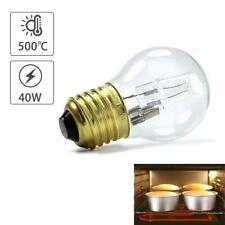 E27 40W Warm White Oven Cooker Bulb Lamp Heat Resistant Light 110-250V 500°C