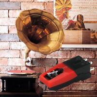 Plattenspieler Diamond Stylus Nadel für LP·Plattenspieler Phono CeramicCart E4A9