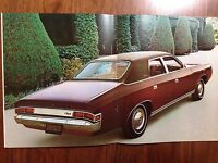 GENUINE NOS CHRYSLER x CHRYSLER CJ FULL SALES BROCHURE BOOKLET EX DEALER VALIANT