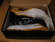 Wilson Men's Surge DST Multi Indoor Mid Court Shoe Yellow/Black Extremely Nice