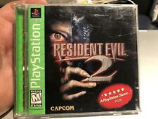 Resident Evil 2 (Sony PlayStation 1, 1998) PS1 Complete Greatest Hits- See Pics!
