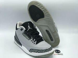 "Air Jordan 3 ""Wolf Grey"" Size 8.5 136064-004 FREE SHIPPING"