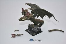 orc warboss on wyvern, metal, chef de guerre vouivre, warhammer battle