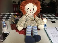 Vintage Primitive Raggedy Ann Doll Handmade
