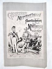Geschichtlice Mittheilungen über das Feuerlöschwesen Stadt Mülhausen 1262-1897