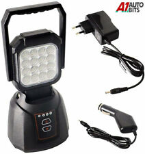 2800 Lm 48W Led Magnetic Base Rechargeable Emergency Light Lamp Auto Car Repair