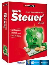 Lexware QuickSteuer 2018 Vollversion (Steuerjahr 2017) + Handbuch Download NEU