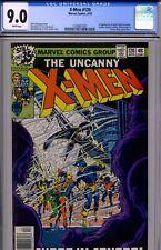 Uncanny X-Men #120 CGC 9.0 Alpha Flight WHITE pages