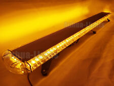 "136 LED 72"" Amber Emergency Beacon Roof Tow Truck Response Wrecker Strobe Light"
