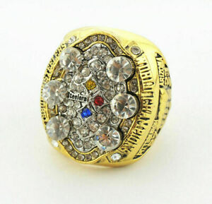 2008 Pittsburgh Steelers Championship ring NFL