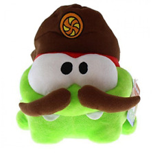 """CUT THE ROPE - SOFT PLUSH TOY - HUNGRY ON  NOM, MONSTER,  - 9"""" WIDE, 9"""" TALL."""