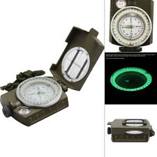 Pro Pocket Military Army Geology Compass for Camping Hiking With CM INCH Ruler