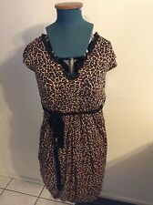 Clubwear Animal Print Bubble Dresses for Women