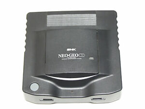 SNK NEO GEO CD Console Junk The power comes on CD-ROM doesn't spin