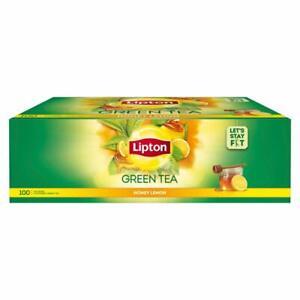 Lipton Honey Lemon Green Tea Bags, 100 Pc Free Shipping