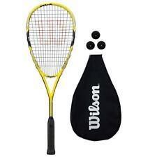 Wilson Ripper Team Squash Racket + 3 Squash Balls Rrp £70
