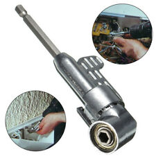 Adjustable Steel 105° Right Angle Driver Hex Screwdriver Holder Power Drill Bit