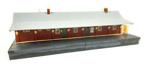 AMRI NSWGR SUBURBAN STATION KIT-BUILT EX-LAYOUT GOOD COND UNBOXED HO SCALE(VH)