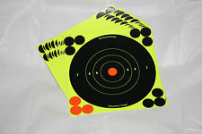"Birchwood Casey Shoot-N-C 6"" Self Adhesive Reactive Targets - 12 sheets"
