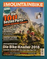 Mountainbike 11/2017 Die Bike-Knaller 2018  ungelesen 1A  absolut TOP