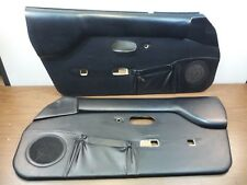 #4 Miatamecca 90-97 Door Panel Set Power Window Black Miata MX5 N030450B OEM