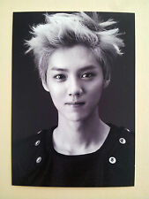 EXO K M SM town SMTown week Official Goods Postcard Post Photo Card  - Luhan
