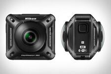 NEW Nikon KeyMission 360 Wi-4Fi 4K Video Action Camera & Access. Great for VR