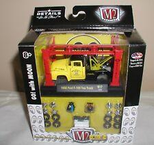 m2 machines mooneyes model-kit 1956 ford f-100 tow truck  r17 new