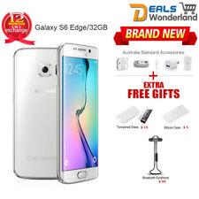 New Samsung Galaxy S6 Edge G925f Smartphone LTE 4G Mobile 32GB White 1Yr Wty