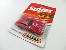 MATCHBOX SUPER GT 'FIRE RESCUE/CHIEF' 64 MB64 MIB/CARDED/BLISTER. GT17.