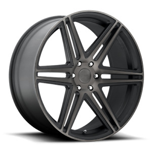 "22 Inch Black Wheels Rims Ford F150 Truck Expedition 22x9.5"" 6x135 Lug Set of 4"