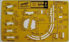 FLEISCHMANN Gleisplan Schablone Serie 1700 1:10 H0 Nr 88 Gleispläne True Vintage