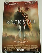 ROCKSTAR 27X40 DS MOVIE POSTER ONE SHEET NEW AUTHENTIC