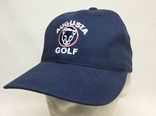 NEW AUGUSTA STRUCTURED GOLF CAP HAT NAVY TAILORED BY AMERICAN NEEDLE