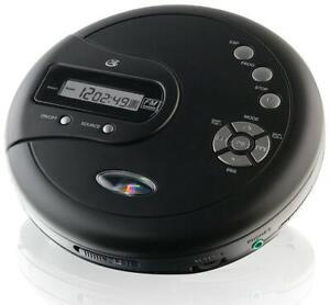 GPX Portable CD Player AntiSkip Protection FM Radio Stereo - OPEN BOX
