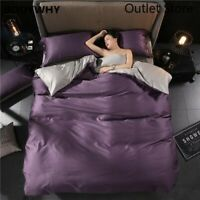 Soft Egyptian Cotton  Bedding Set Bed Set Fitted Sheet Duvet Cover Pillowcases