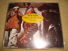 RUN-D.M.C. - What's It All About : The Ave.  (Maxi-CD)  RUN-DMC