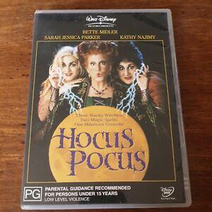 Hocus Pocus DVD R4 Like New! FREE POST