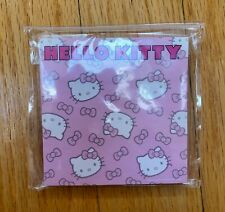 New Hello Kitty Memo Pad Pink White 100 Sheets
