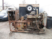 1943 Buda Diesel Engine Withgenerator On A Skid Complete Runs