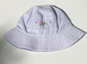 NEW Vintage Reversible Baby GAP Purple Sun HAT Size L XL 12-18-24 mo NWT