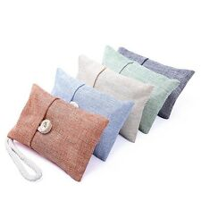 1pc Air Purifier Charcoal Bag Bamboo Deodorizer Natural Freshner Odor Elminator